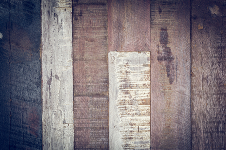 log deck: timber wood wall panel plank texture vintage background Stock Photo