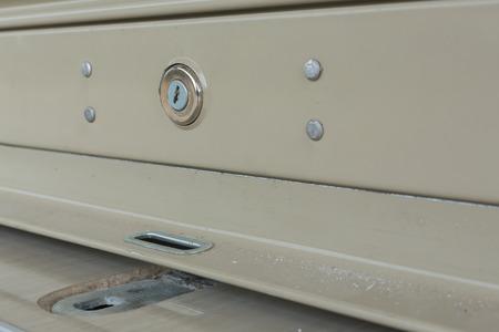 ransack: key hole on roller shutter door