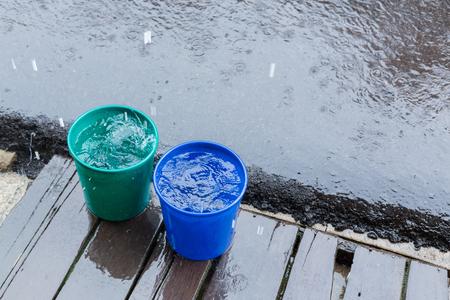 seau d eau: rain drop in bucket water, weather rainy season