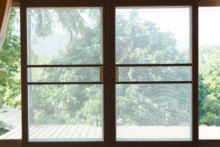 window mosquito wire screen plastic net protection from insect bug