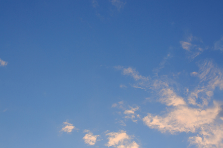beautiful clear blue sky, weather have a good day background