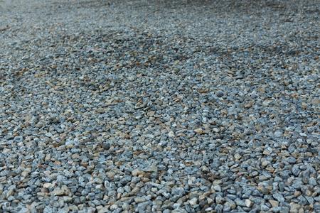 gravel of dirt road