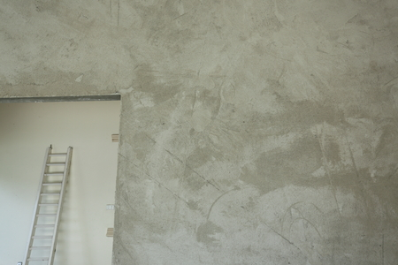cement concrete wall in construction site industry