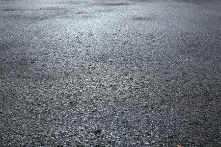 Fondo de textura de carretera asfaltada de asfalto negro Foto de archivo
