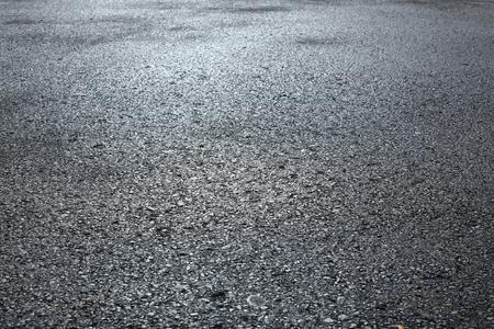 fondo di struttura della strada asfaltata dell'asfalto nero Archivio Fotografico
