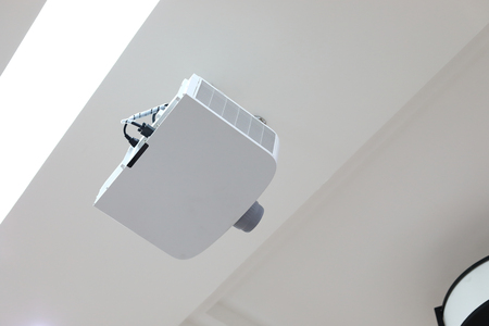 projector in seminar room, object of business office