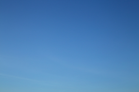 clear blue sky in the morning day