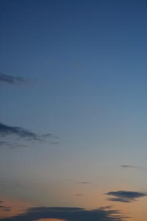 cloud moving on twilight dusk sky background