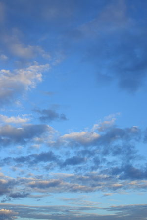 cloud on blue sky weather background Stock Photo