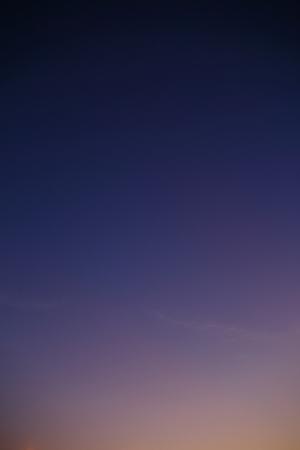 purple clear morning sky Stock Photo