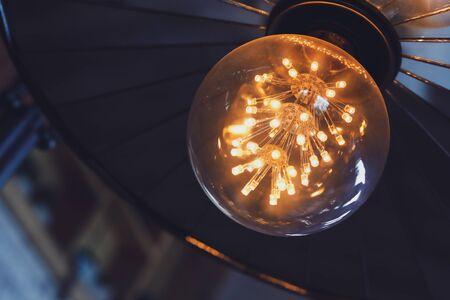 vintage light bulb interior decoration