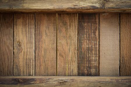 brown wood barn texture background of timber case box from old wooden plank pallet weathered