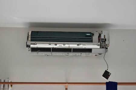 repair air condition system in home improvement