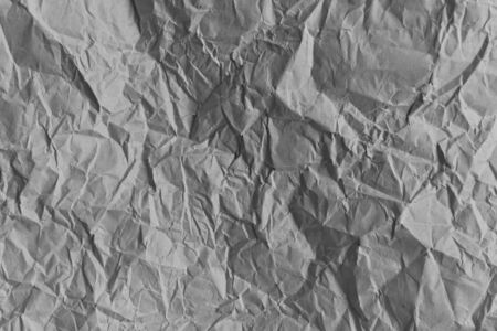 gray crumpled paper texture background