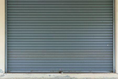 steel roller shutter door lock closed security