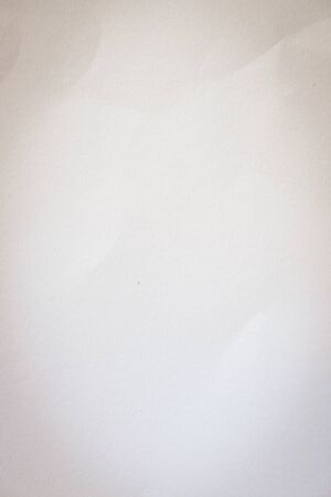 empty blank white paper texture with crease pattern surface used for page background Banco de Imagens