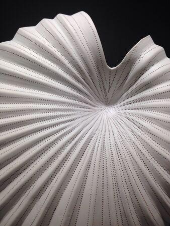 forme: Shell forme vase