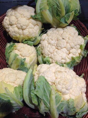 coliflor: Cauliflower Foto de archivo