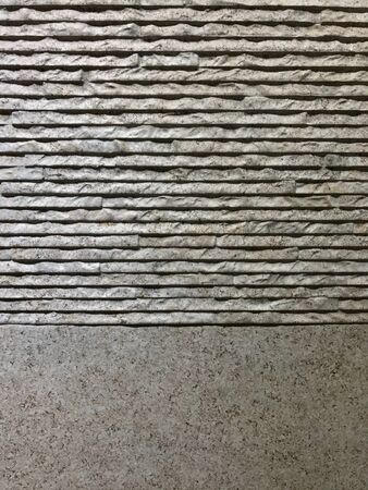 rough: Wall tile decoration