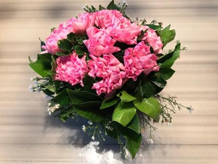 Carnation flower bouquet