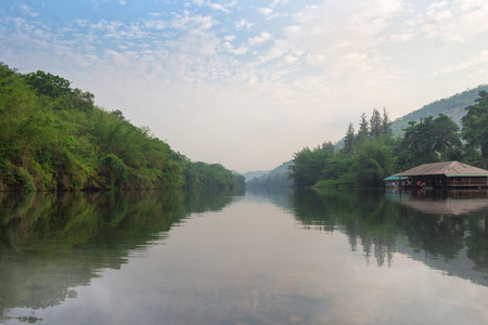 thanon: River Kwai Or alias Sawat River The major rivers of western Thailand. Extending the range of Thanon Thongchai. Flows south through Umphang district of Tak province Thung Yai Naresuan. Uthai Thani Province With Srisawat And Kanchanaburi The river flows to