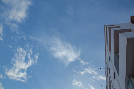 cirrus: Cirrus Clounds in the sky and  Construction