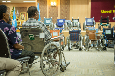 parade of homes: Hospital Sakon Presented wheelchair disabled From Japan For people with disabilities in the province and eight provinces in the health services. Editorial