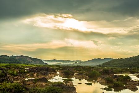 sean: SUNSET PHUN KHOD SEAN KHAI ON MEKHONG RIVER OF ASIAN