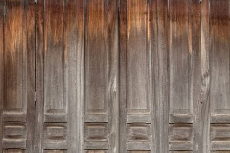 old wooden door: Part of Old wooden door Stock Photo