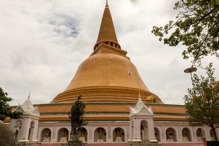 nakhon pathom: Temple,Phra Pathom Chedi,Nakhon Pathom,Thailand.