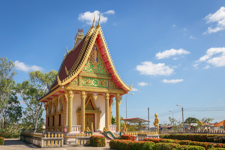 phon: Buddhist temple Wat phra that phon,Savannakhet,Laos.
