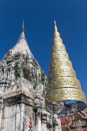 phon: Asia,Phra That Phon archaeological site in Savannakhet District,Laos. Note: Public religion
