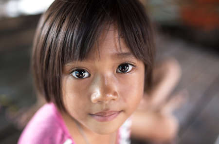 Eyes of Hope is a child in asian