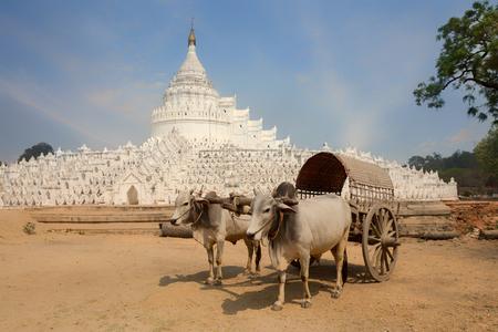 Myanmar Cart is a car for tourists visiting the city of Mandalay, Burma.