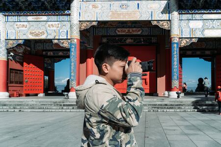 Photographer journalism travel in China shoot the culture of Chinese