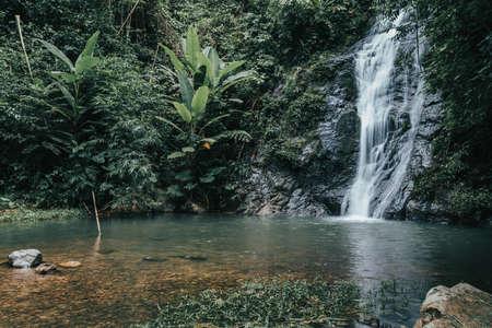 Than-Thip waterfall Sangkhom Nong Khai, Thailand