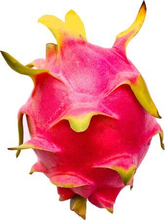 dragon fruit isolated on white background Stock Photo - 16151054