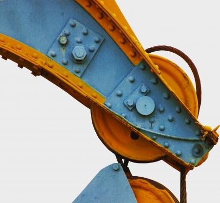 sling: crane sling on a white background