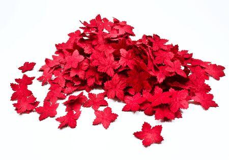 Weihnachten Blume Papier Weiß Isoliert Papier Blumen Lizenzfreie ...