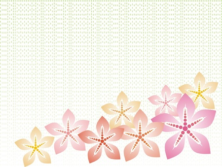 backgroud: floral backgroud