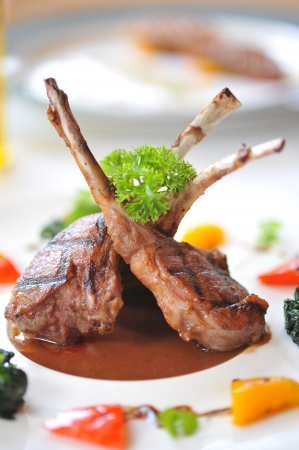 rack of lamb: lamb