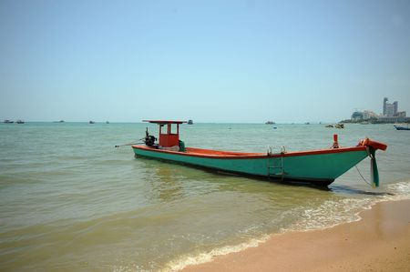 boat in thailand photo