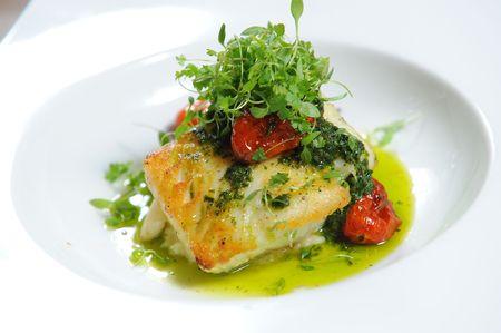 pesce cotto: bistecca di pesce