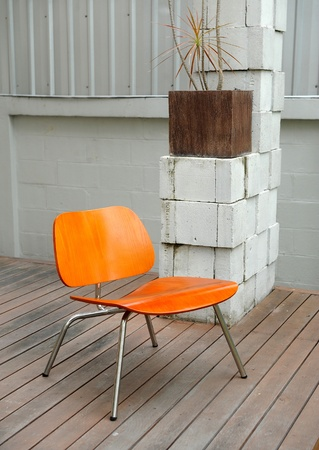 chair in outdoor photo