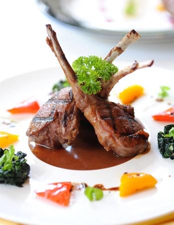 lamb for dinner photo