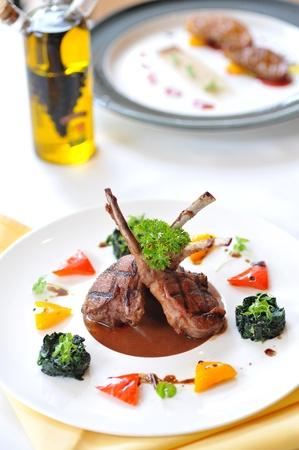 mutton chops: lamb