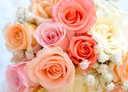 захоронение: смешивать цветы