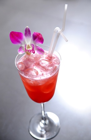 red cocktail Stock Photo - 9484166