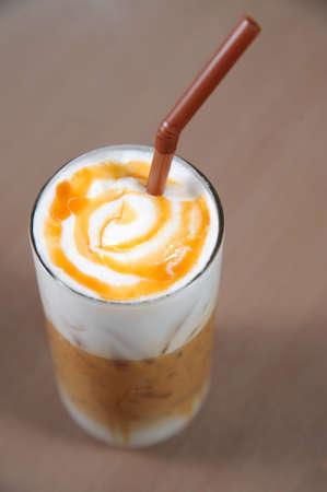 coffee with cream Stock Photo - 9647207