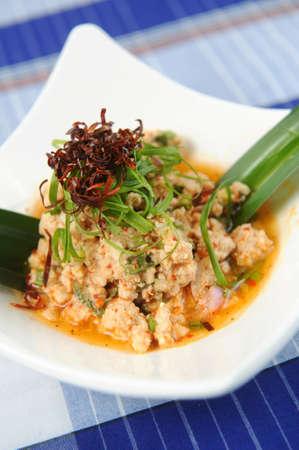 spicy pork salad Stock Photo - 9782349